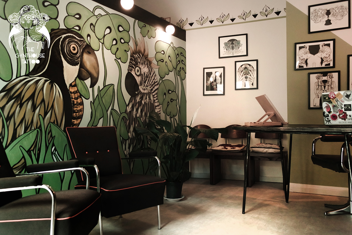 ingresso gynthouse tattoo e murales arezzo